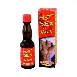 Krople pobudzające dla mężczyzn HOT SEX FOR MAN 20 ml