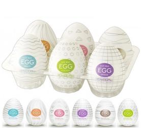 Masturbator Tenga Egg - zestaw 6 sztuk