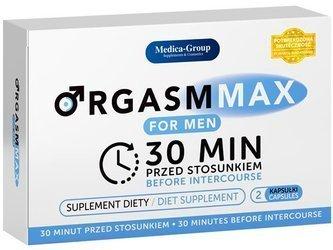 Orgasm Max for Men - 2 kapsułki na długą erekcję i długi seks
