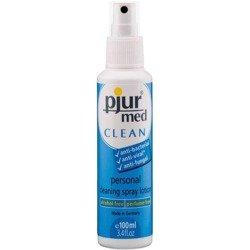 Pjur - Med Clean Spray 100 ml - spray do czyszczenia zabawek erotycznych