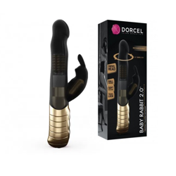 Wibrator Dorcel Baby Rabbit Black & Gold 2.0