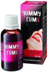 Yummy Cum 30 ml krople na poprawę smaku spermy