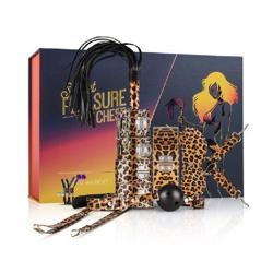 Zestaw erotyczny LoveBoxxx - Secret Pleasure Leopard BDSM