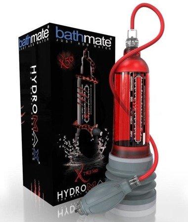Bathmate Hydromax X50 Xtreme Red - pompka wodna powiększająca penisa