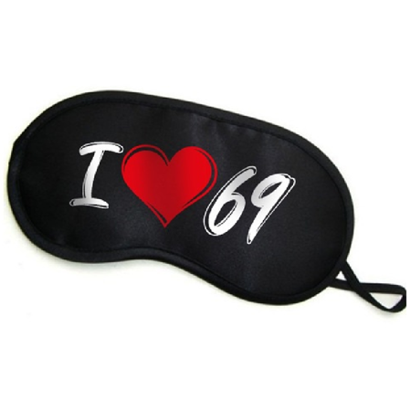 Opaska na oczy - I love 69