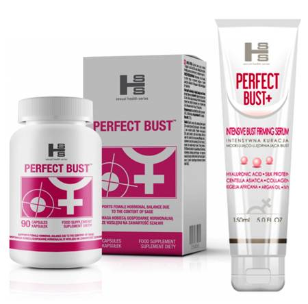Perfect Bust: żel 150ml + 90 tabletek - powiększanie piersi