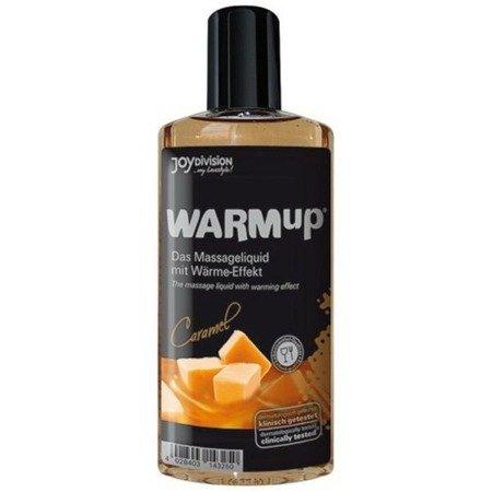 Rozgrzewający olejek do masażu JoyDivision - karmelowy