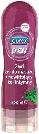 Żel intymny i do masażu (2w1) Durex Play Aloe Vera 200ml - z aloesem