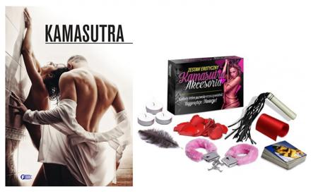 Zestaw erotyczny - Książka Kamasutra + Gratis Kamasutra Akcesoria